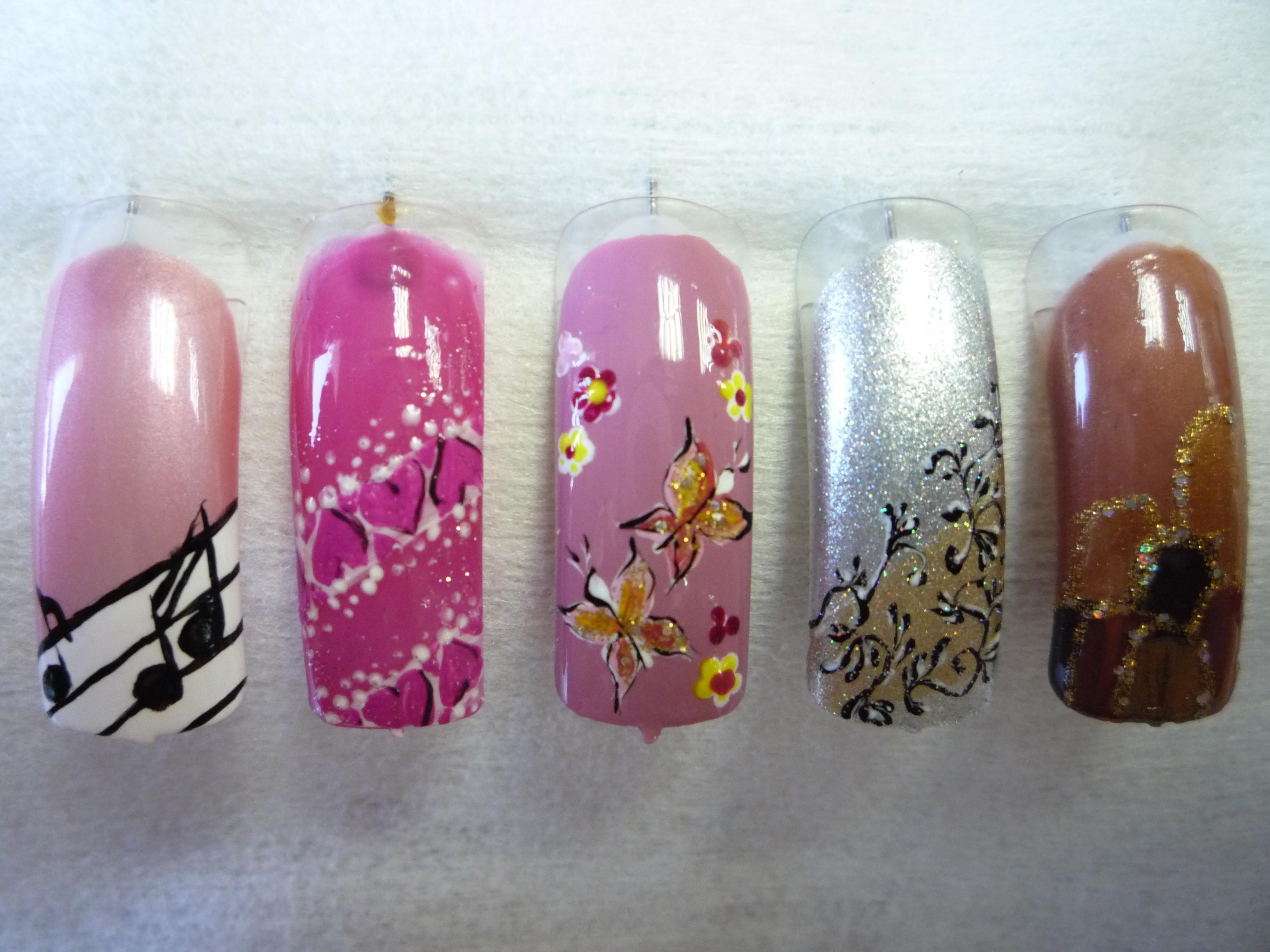 Образцы длядизайна на ногти