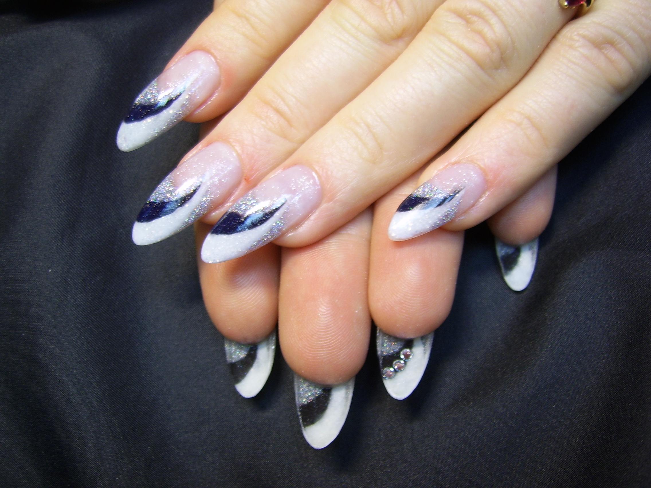 Рисунки ногтей абстракция фото